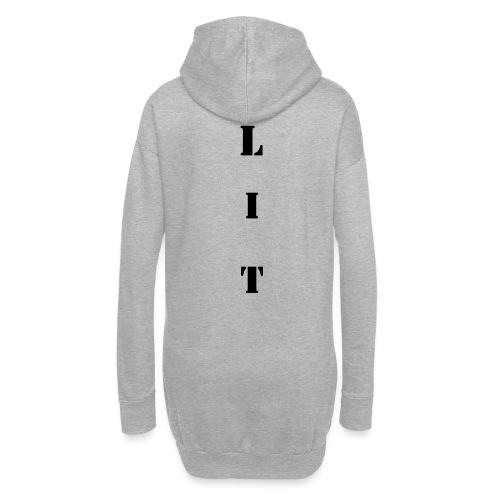 LIT Back Print - Hoodie Dress
