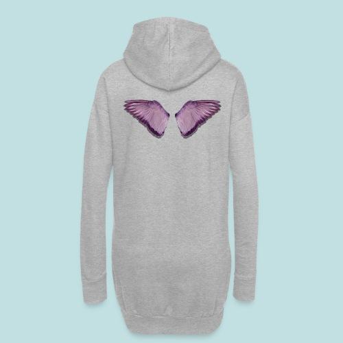 Angel wings print - Hoodie Dress
