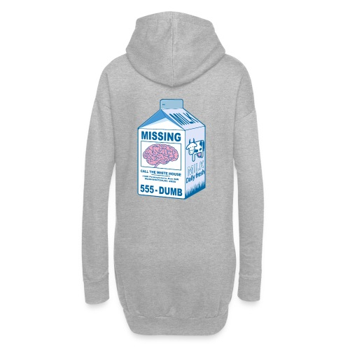 Missing brain - Hoodie Dress