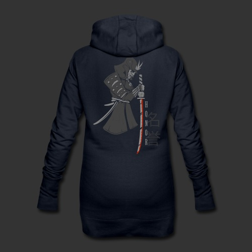 Samurai Digital Print - Hoodie Dress