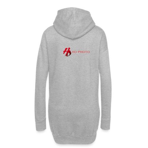 logo officiel hd photo namur - Sweat-shirt à capuche long Femme