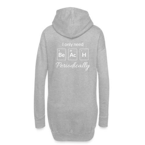 Periodensystem beach periodically - Hoodie-Kleid