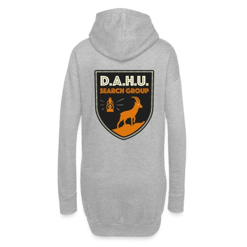 Chasse au dahu - Sweat-shirt à capuche long Femme