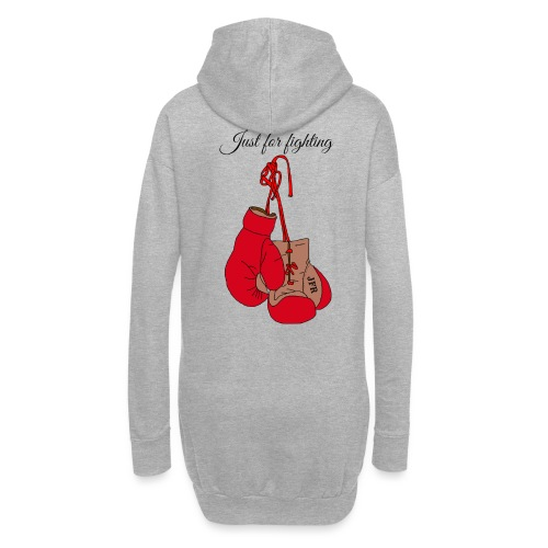 Just for fighting - Sweat-shirt à capuche long Femme