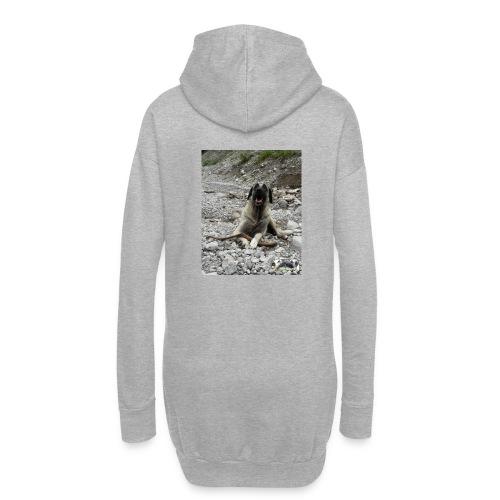 Hoodie Kangal im Flußbett - Hoodie-Kleid