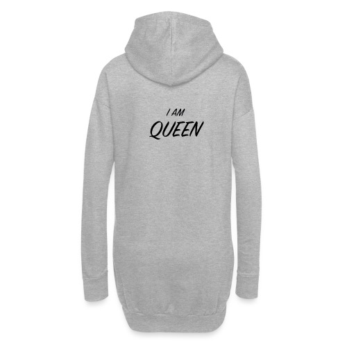Queen - Sweat-shirt à capuche long Femme