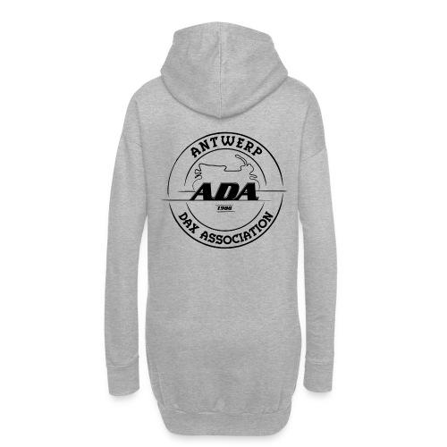 ADA DAX Logo Groot Zwart - Hoodiejurk