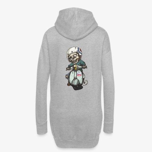 Skullterist - Solo Big Print - Hoodie-Kleid