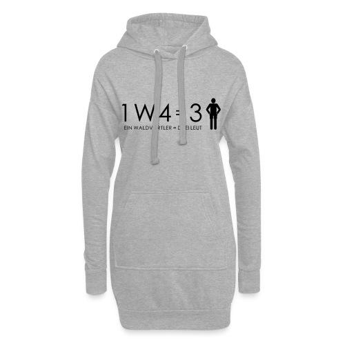 1W4 3L - Hoodie-Kleid