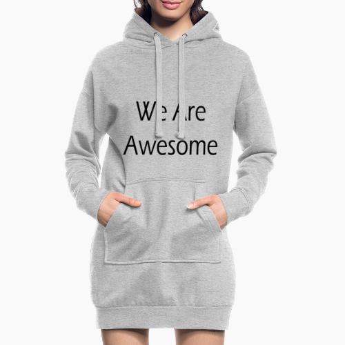 WAA bl sf - Sweat-shirt à capuche long Femme