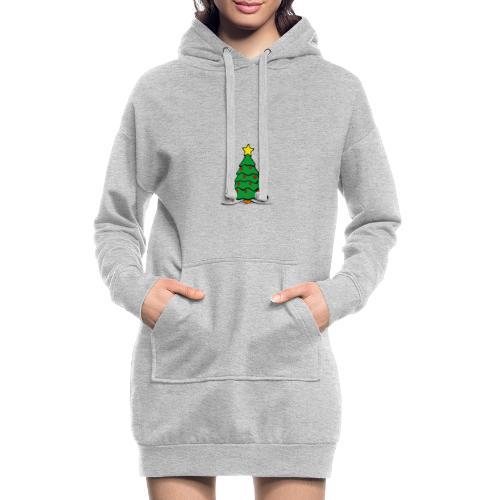 Christmas-Tree - Hoodie-Kleid