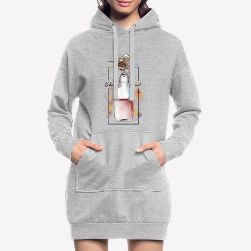 Schnapsdrossel - Hoodie-Kleid