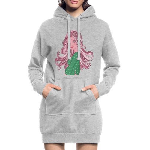 Girl power Holly - Sweat-shirt à capuche long Femme