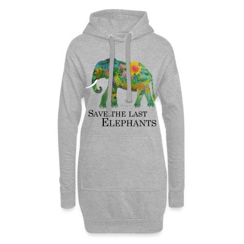 Save The Last Elephants - Hoodie-Kleid
