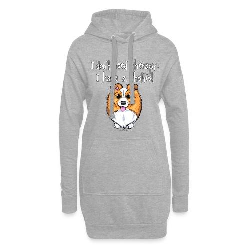 Sheltie Dog Therapy 2 - Hoodie Dress