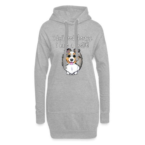 Sheltie Dog Therapy 3 - Hoodie Dress