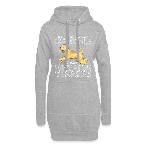 Wheaten Terrier Diamonds 2 - Hoodie Dress