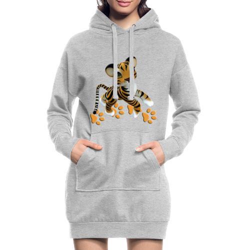 Kleiner Tiger - Hoodie-Kleid
