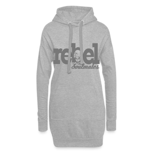 REBEL SOULMATES - Hoodie Dress