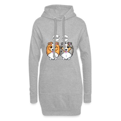 Sheltie Sheltie 3 - Hoodie Dress