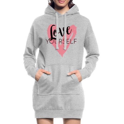 Love Yourself Logo von Pascal Voggenhuber - Hoodie-Kleid
