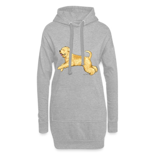 Wheaten Terrier 2 - Hoodie Dress