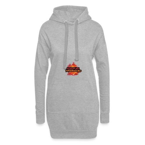 LOGO222 png - Sweat-shirt à capuche long Femme