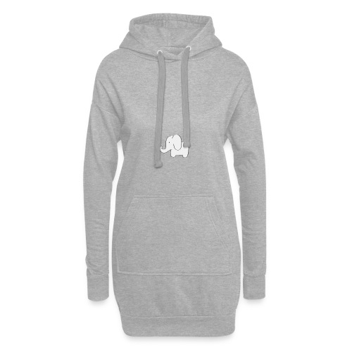 Little white elephant - Hoodie Dress
