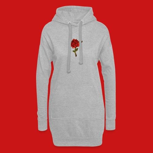 Red Rose - Vestitino con cappuccio