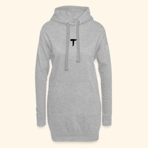 T - Sweat-shirt à capuche long Femme