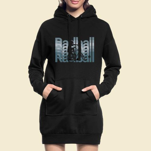 Radball   Typo Art - Hoodie-Kleid