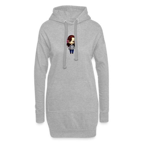 Chibi - Sweat-shirt à capuche long Femme