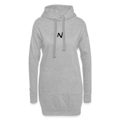 N Nebula Text - Hoodie Dress