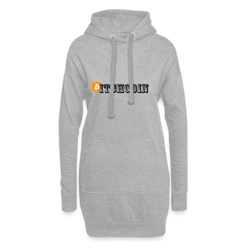 Bitchcoin - Hoodie-Kleid
