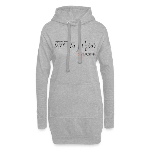 Physics for divers (DiveAustria) - Hoodie-Kleid