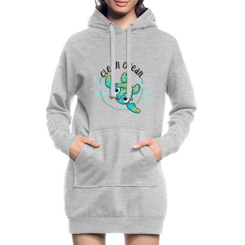 Clean Ocean - Hoodie Dress