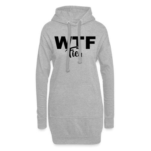 wtf fieu - Sweat-shirt à capuche long Femme