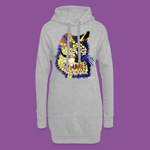 Katze 9 - Hoodie-Kleid