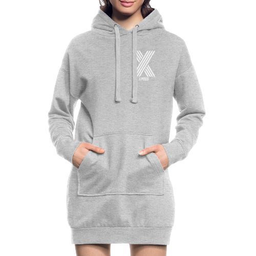 Xposed White - Hoodie Dress