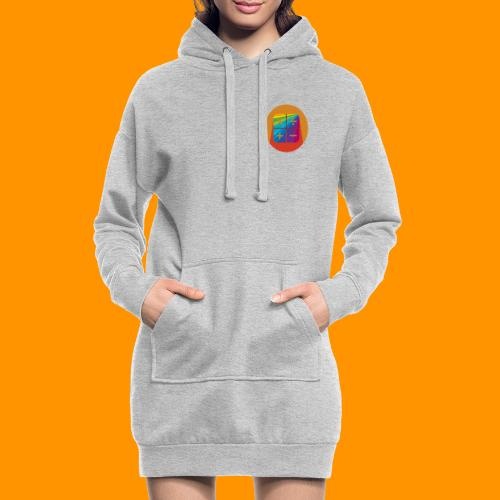 Matemáticas Sin Más Rainbow - Sudadera vestido con capucha