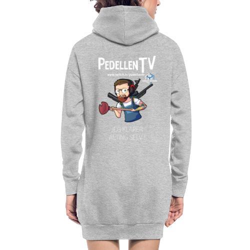 pedellentv - Hoodie-kjole