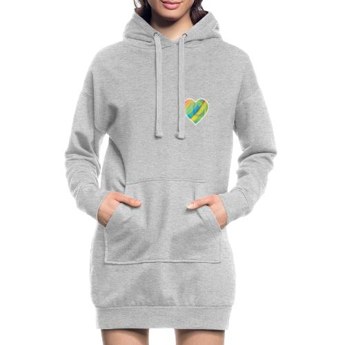 Spread the Love - Hoodie Dress