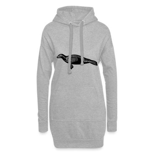 Robben skelet - Hoodie-kjole