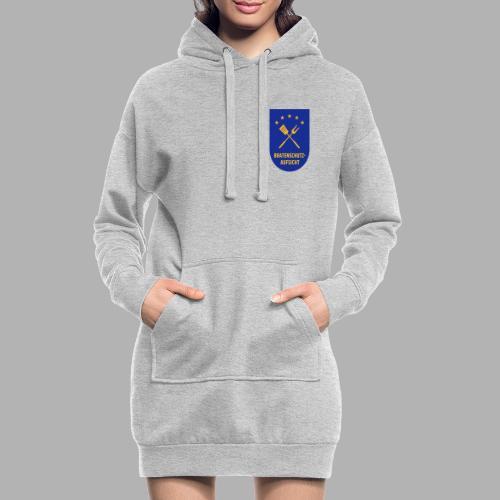 EU Bratenschutz-Aufsicht Dienstabzeichen blau - Hoodie-Kleid