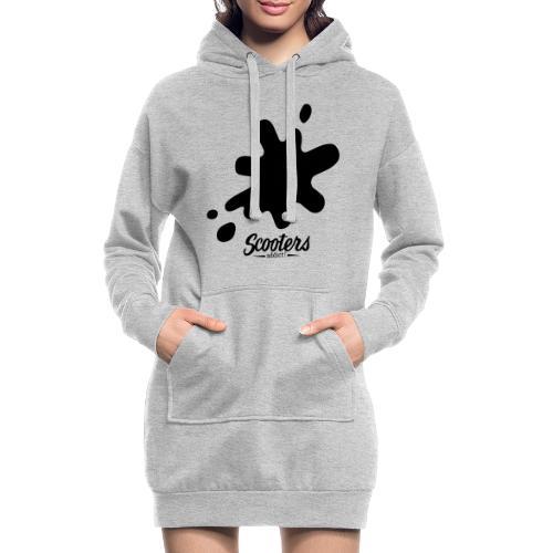 DL oil - Sweat-shirt à capuche long Femme