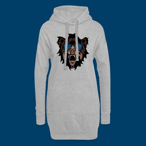 The Grizzly Beast - Hoodie Dress