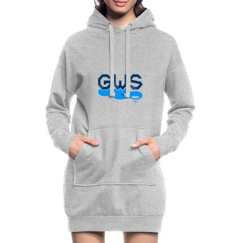 Global Warming Snowman - Sweat-shirt à capuche long Femme