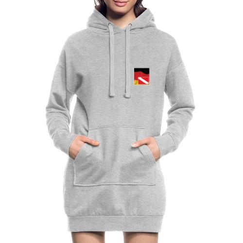Tauchrevier Deutschland newStyle komplett - Hoodie-Kleid