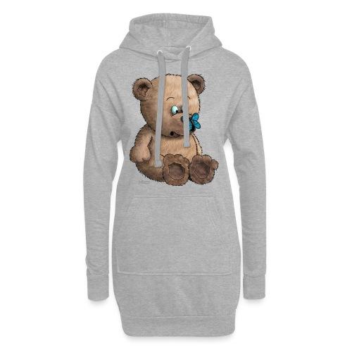 Teddybär - Hoodie-Kleid