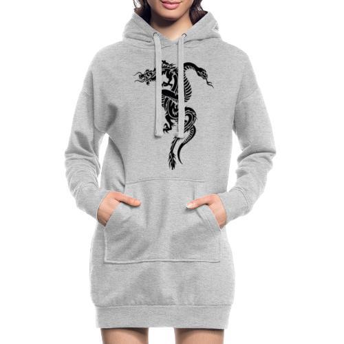 Dragon & serpent collection! Limited edition! - Vestitino con cappuccio